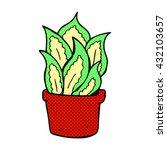 freehand drawn cartoon house... | Shutterstock .eps vector #432103657