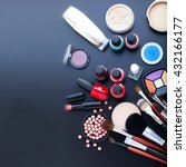 Makeup Cosmetics Products On...