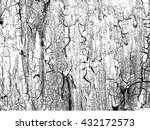 cracked paint on the wall... | Shutterstock .eps vector #432172573