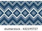 geometric ethnic oriental... | Shutterstock .eps vector #432195727