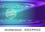 vector abstract background with ...   Shutterstock .eps vector #432199423