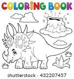 Coloring Book Dinosaur Topic 2...