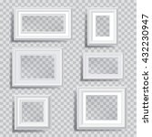 six vector white editable... | Shutterstock .eps vector #432230947