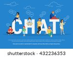 Chat Concept Illustration Of...