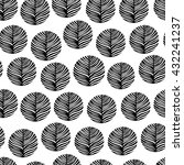 seamless pattern with hand...   Shutterstock .eps vector #432241237