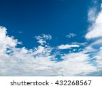 sky and white cloud | Shutterstock . vector #432268567