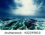 Dramatic Water Wave Splash...