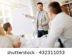 lecture and  training  in... | Shutterstock . vector #432311053