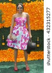 Small photo of Jersey City, NJ USA - June 4, 2016: Alicia Quarles attends 9th annual Veuve Clicquot Polo Classic at Liberty State Park