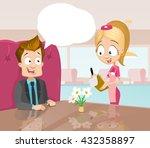 vector cartoon illustration of... | Shutterstock .eps vector #432358897