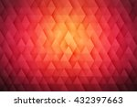 abstract 3d vector geometrical...