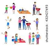 vector character people on... | Shutterstock .eps vector #432427693