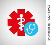 medical care design    Shutterstock .eps vector #432455923