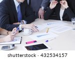 working business people... | Shutterstock . vector #432534157