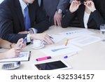 working business people... | Shutterstock . vector #432534157