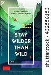 modern motivational poster... | Shutterstock .eps vector #432556153