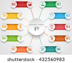 infographic design template.... | Shutterstock .eps vector #432560983