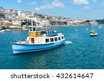 falmouth  cornwall  uk  ... | Shutterstock . vector #432614647