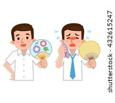 businessman shall be sought in... | Shutterstock .eps vector #432615247