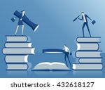business concept team ... | Shutterstock .eps vector #432618127