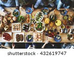 food catering cuisine culinary... | Shutterstock . vector #432619747
