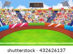 stadium  sports arena vector... | Shutterstock .eps vector #432626137