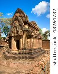 banteay srei  the temple of... | Shutterstock . vector #43264732