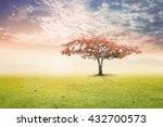 heaven concept  garden of eden... | Shutterstock . vector #432700573