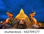 Golden Pagoda Nine Tier With...