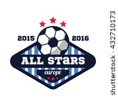 soccer logo  american sports... | Shutterstock .eps vector #432710173