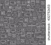 home appliances. background... | Shutterstock .eps vector #432752653