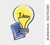 idea design. sketch icon. white ...   Shutterstock .eps vector #432761083
