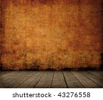 grunge room interior   Shutterstock . vector #43276558