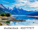 medicine lake is located within ... | Shutterstock . vector #432777577