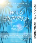 beach party flyer template ...