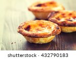 typical portuguese dessert... | Shutterstock . vector #432790183
