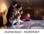 pupils on school field trip to... | Shutterstock . vector #432834367