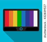 tv icon | Shutterstock .eps vector #432839527