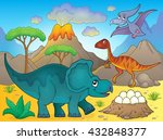 Image With Dinosaur Thematics ...