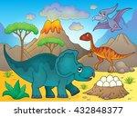 Image With Dinosaur Thematics ...