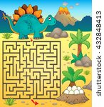 Maze 3 With Dinosaur Theme 1  ...
