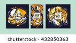 abstract background vector  ... | Shutterstock .eps vector #432850363