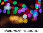 blurred background   red  green ... | Shutterstock . vector #432882307
