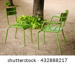Two Chairs Facing Each Other...