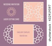 diy laser cutting vector...   Shutterstock .eps vector #432919597