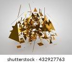 raspavshayasya to the multitude ... | Shutterstock . vector #432927763