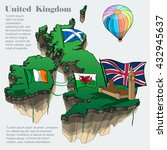 united kingdom country... | Shutterstock .eps vector #432945637