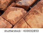 Aboriginal Rock Petroglyph In...