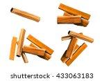 sappan tree  caesalpinia sappan ... | Shutterstock . vector #433063183