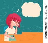 vector illustration of a... | Shutterstock .eps vector #433118707